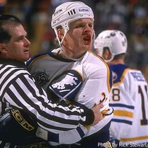 Rob Ray is listed (or ranked) 24 on the list The Greatest Buffalo Sabres of All Time