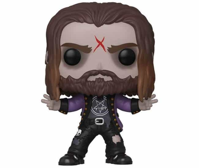 Rob Zombie is listed (or ranked) 3 on the list The Hardest Hard Rock And Metal Band Funko Pops