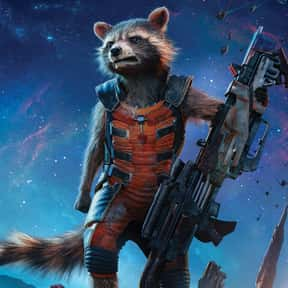 Rocket Raccoon is listed (or ranked) 9 on the list The Best Characters In The Marvel Cinematic Universe