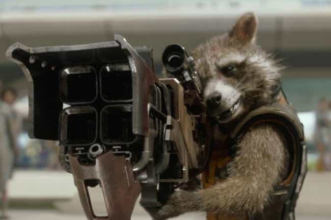 Rocket Raccoon is listed (or ranked) 1 on the list The Funniest Characters In The MCU
