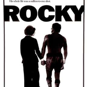 Rocky is listed (or ranked) 11 on the list The Greatest Film Scores of All Time