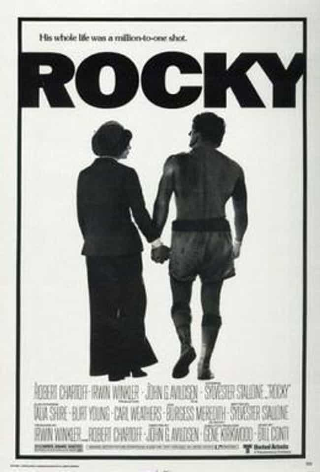 Rocky is listed (or ranked) 4 on the list 27 Movies That Actually Taught Us Something