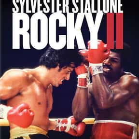 Rocky II is listed (or ranked) 22 on the list The Best Sports Movies Ever Made