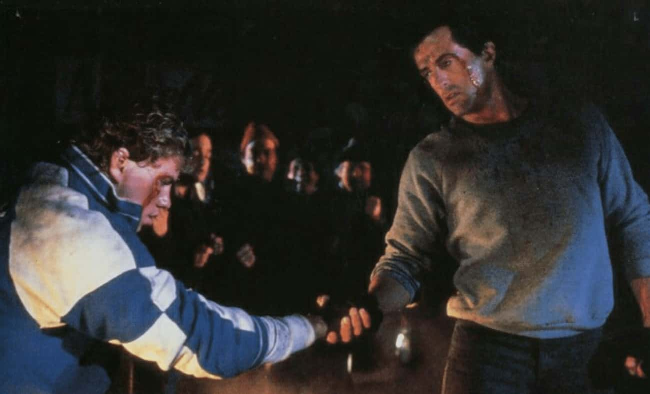 Rocky V is listed (or ranked) 1 on the list The Worst Movies In Great Franchises