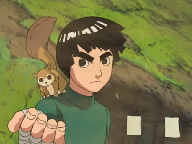 Rock Lee is listed (or ranked) 8 on the list The 20 Most Inspirational Anime Quotes Of All Time