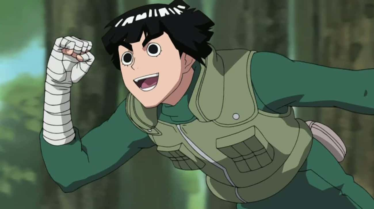 Rock Lee is listed (or ranked) 2 on the list The 16 Greatest Taijutsu Users In 'Naruto'