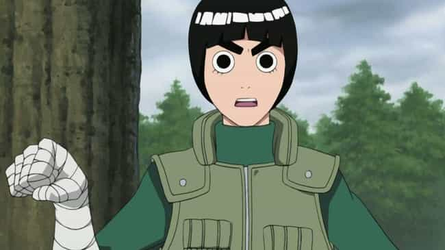 Rock Lee is listed (or ranked) 8 on the list How Different Characters In Naruto Might Actually Represent Mental Health Issues