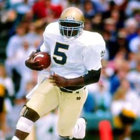 Rodney Culver is listed (or ranked) 17 on the list The Best Notre Dame Fighting Irish Running Backs of All Time