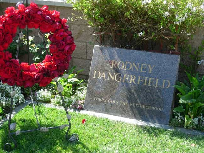 Rodney Dangerfield is listed (or ranked) 2 on the list The Best Celebrity Tombstones