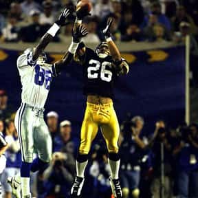 Rod Woodson is listed (or ranked) 11 on the list The Best Pittsburgh Steelers of All Time