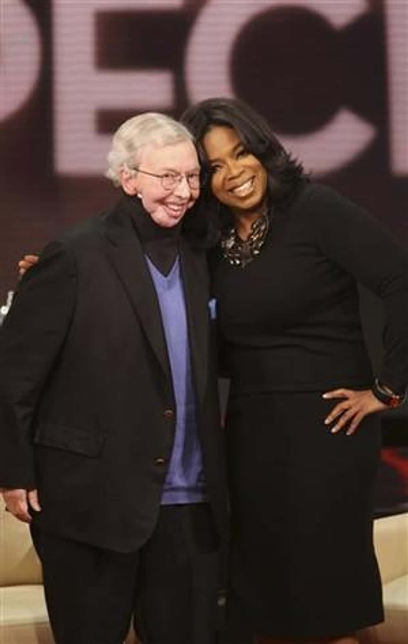 Roger Ebert is listed (or ranked) 3 on the list Oprah Winfrey's Loves & Hookups
