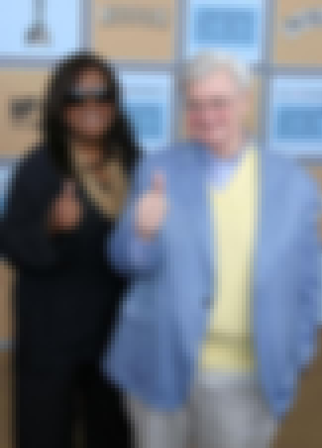 Roger Ebert is listed (or ranked) 6 on the list 15 Famous White Men Married to Black Women
