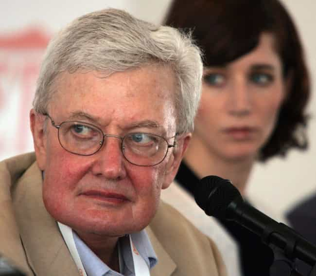 Roger Ebert is listed (or ranked) 1 on the list Famous Male Film Critics
