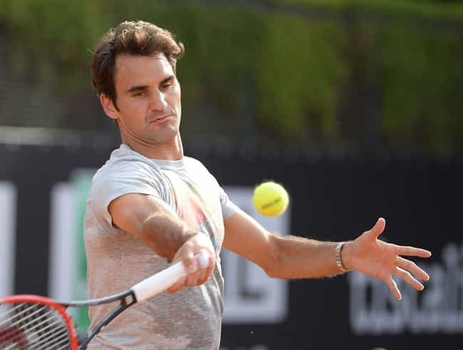Roger Federer is listed (or ranked) 2 on the list 9 Famous Parents with Two Sets of Twins