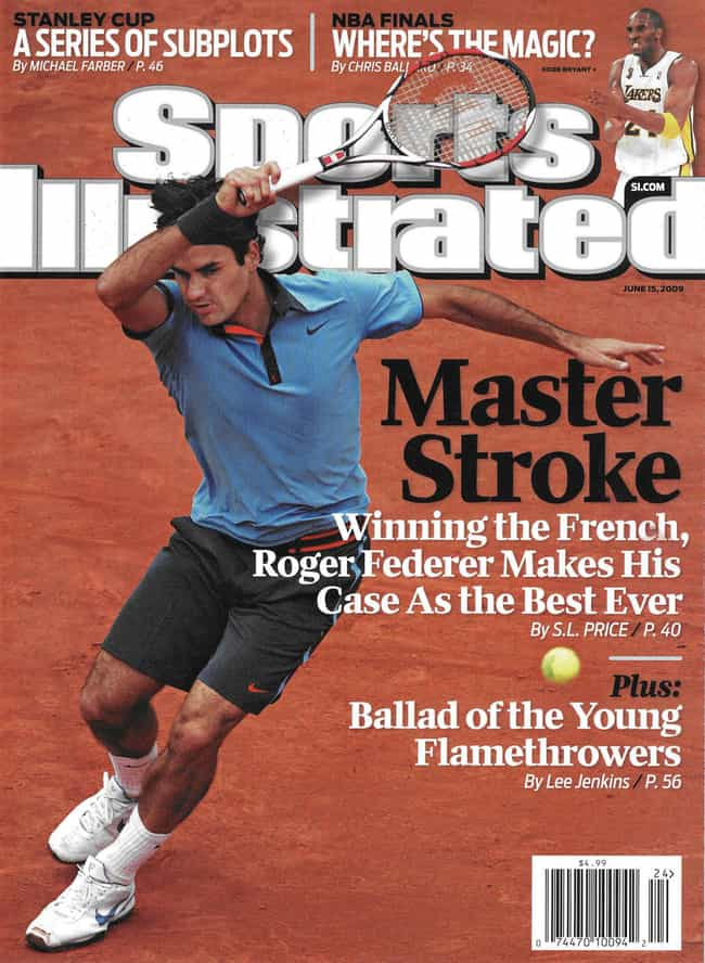 Roger Federer is listed (or ranked) 2 on the list The Best Sports Illustrated Covers