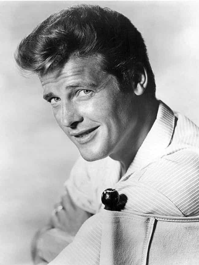 Roger Moore is listed (or ranked) 7 on the list Famous Men Who Married Older Women