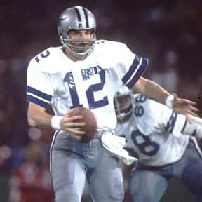 Roger Staubach is listed (or ranked) 3 on the list The Best NFL Buys for the Money