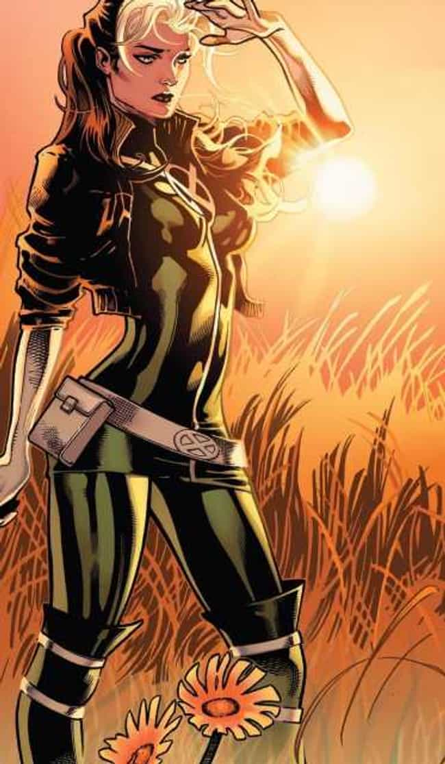 Rogue is listed (or ranked) 3 on the list The Best X-Men Characters of All Time