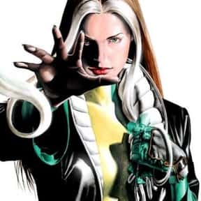 Rogue is listed (or ranked) 16 on the list The Best Female Comic Book Characters