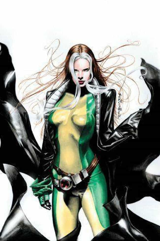 Rogue is listed (or ranked) 2 on the list X-Men Characters Who Should be Rebooted On The Silver Screen