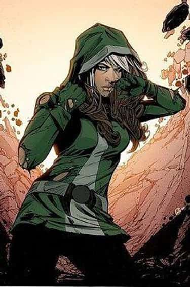 Rogue is listed (or ranked) 6 on the list Wolverine's Long List of Lovers