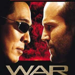 War is listed (or ranked) 20 on the list The Best Jason Statham Movies of All Time, Ranked