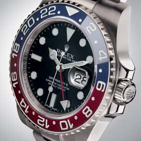 Rolex is listed (or ranked) 2 on the list The Best Watch Brands