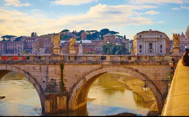 Rome is listed (or ranked) 4 on the list The Best Girls' Trip Destinations