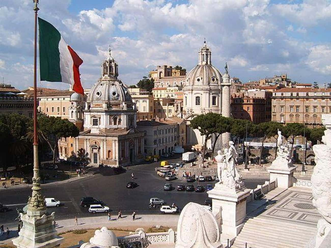 Rome is listed (or ranked) 3 on the list Cities You Most Want To Visit