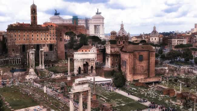 Rome is listed (or ranked) 2 on the list The Most Beautiful Cities in the World