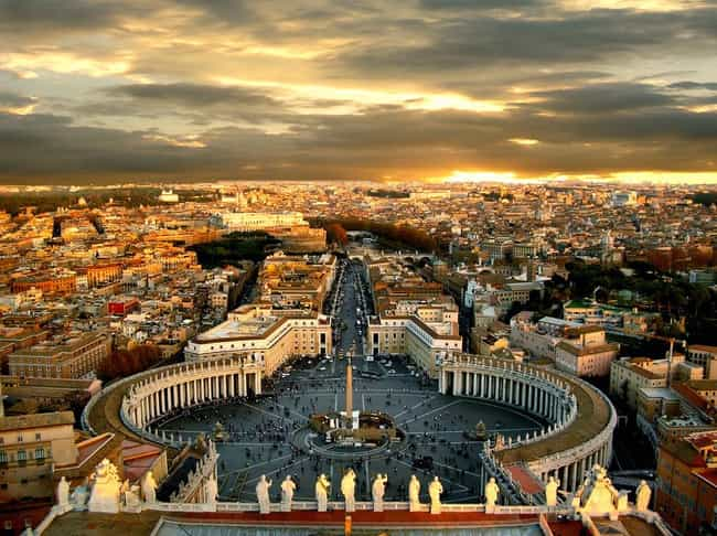 Rome is listed (or ranked) 1 on the list The Most Beautiful Cities in the World