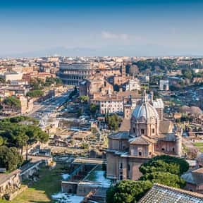 Rome is listed (or ranked) 24 on the list The Top Party Cities of the World