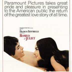 Romeo and Juliet is listed (or ranked) 9 on the list The Best Movies About Tragedies