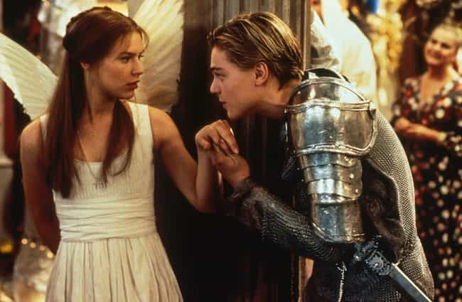 Romeo + Juliet is listed (or ranked) 4 on the list The Top 25 Must-See Quintessential Romance Movies