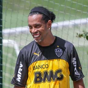 Ronaldinho is listed (or ranked) 9 on the list List of Famous Footballers