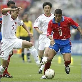 Rónald Gómez is listed (or ranked) 14 on the list The Best Soccer Players from Costa Rica