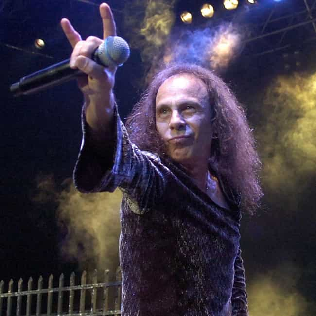 Ronnie James Dio is listed (or ranked) 6 on the list Male Celebrities Who Are 5'3