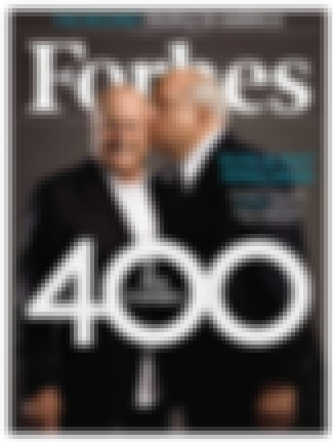 Ronald Perelman is listed (or ranked) 4 on the list The Best Forbes Covers