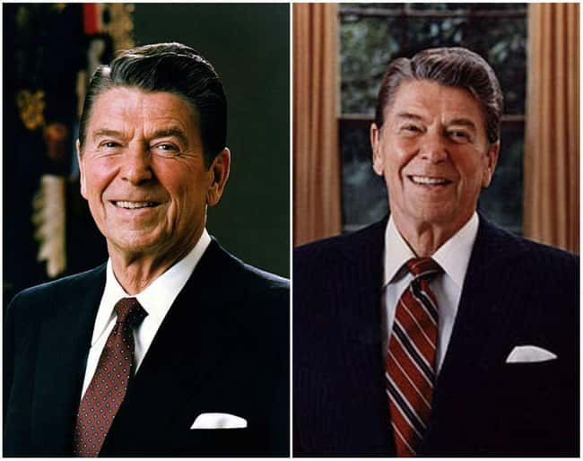 Ronald Reagan is listed (or ranked) 9 on the list U.S. Presidents Before and After Major Historical Events