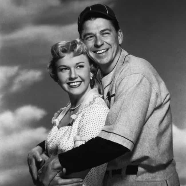 Ronald Reagan is listed (or ranked) 3 on the list Men Who Doris Day Has Dated