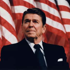 Ronald Reagan is listed (or ranked) 4 on the list Famous People Who Died in California
