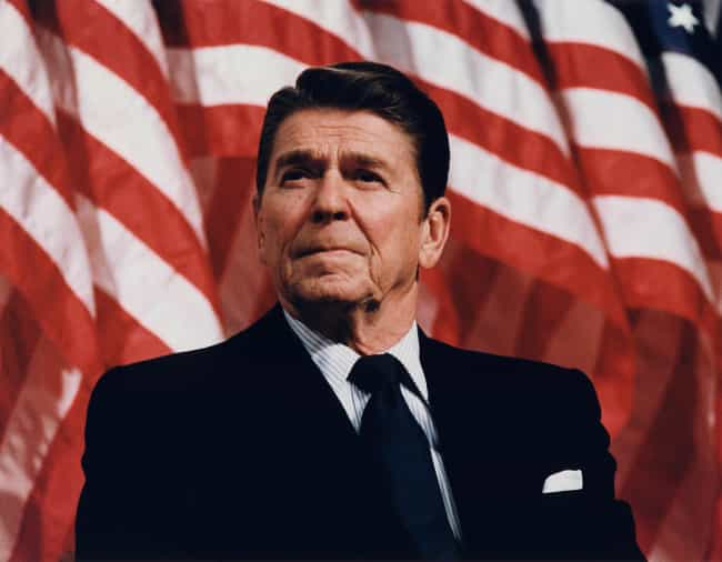Ronald Reagan is listed (or ranked) 1 on the list The Most Influential Contemporary Americans