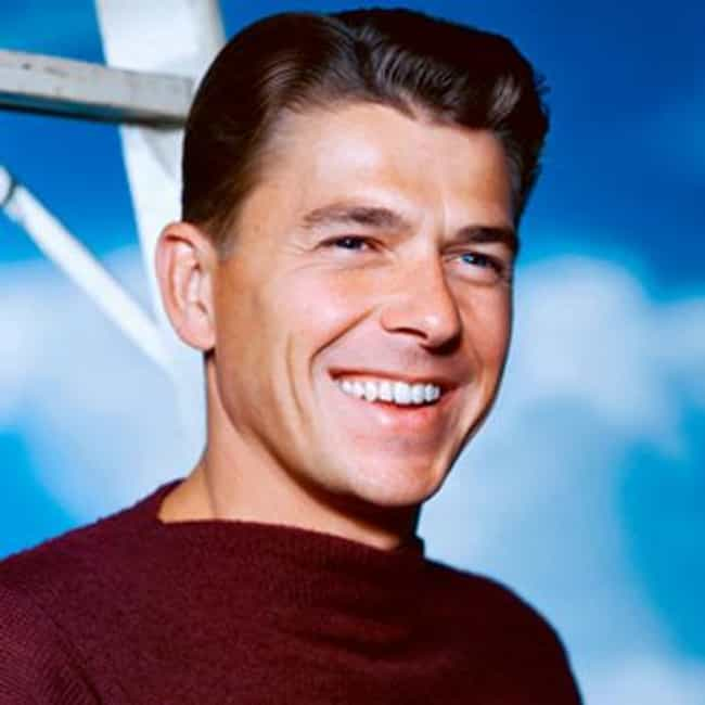 Ronald Reagan is listed (or ranked) 3 on the list The Hottest US Presidents, Ranked