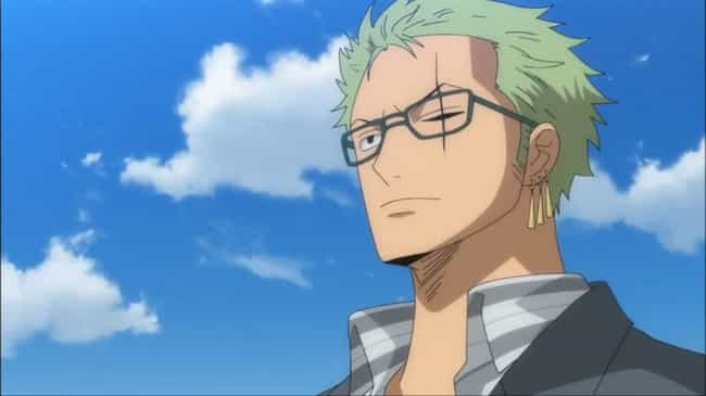 Roronoa Zoro is listed (or ranked) 4 on the list The Greatest Anime Characters With Scars