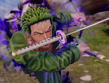 Roronoa Zoro is listed (or ranked) 1 on the list The Best 'Jump Force' Characters