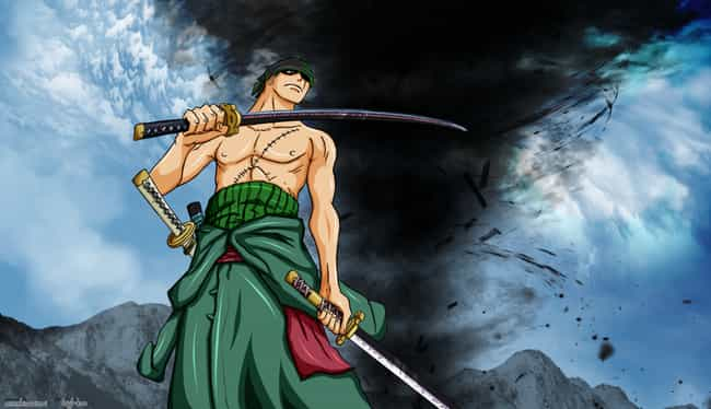 Roronoa Zoro is listed (or ranked) 4 on the list The 14 Greatest Left-Handed Anime Characters of All Time