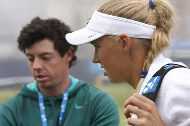 Rory McIlroy is listed (or ranked) 4 on the list Caroline Wozniacki Loves and Hookups