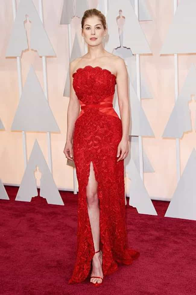 Rosamund Pike is listed (or ranked) 1 on the list The Best Looks at the 2015 Academy Awards