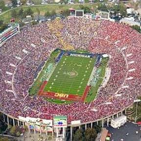 Rose Bowl is listed (or ranked) 1 on the list The Best College Football Stadiums