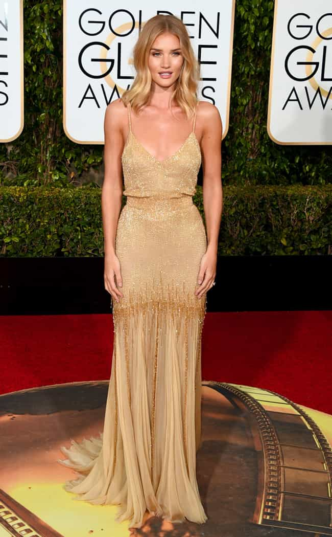 Rosie Huntington-Whiteley is listed (or ranked) 3 on the list The Most Cringeworthy Looks at the 2016 Golden Globes